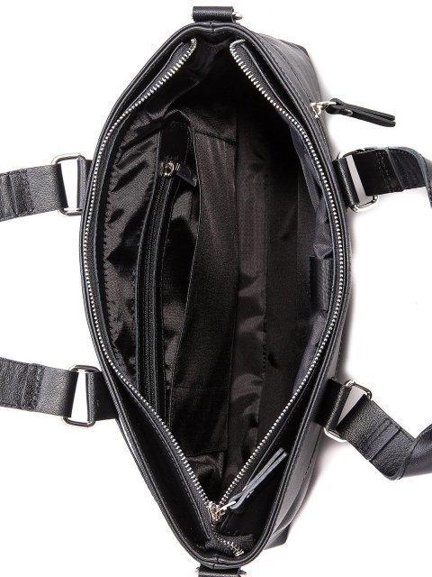 Чёрная сумка классическая S.Lavia (Славия) - артикул: 0047 10 01 - ракурс 4