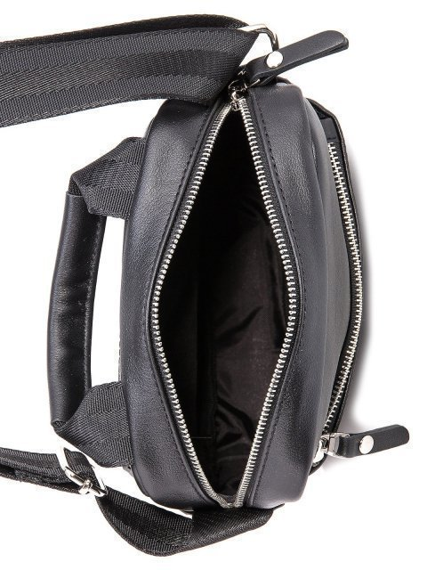 Чёрная сумка планшет S.Lavia (Славия) - артикул: 0038 10 01 - ракурс 5