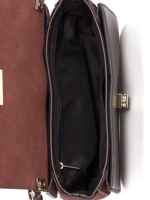 Коричневая сумка планшет Domenica (Domenica) - артикул: 0К-00002028 - ракурс 4