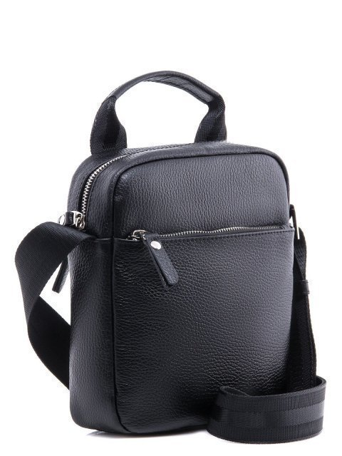 Чёрная сумка планшет S.Lavia (Славия) - артикул: 0038 12 01 - ракурс 2