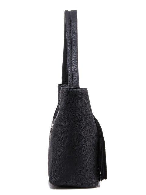 Чёрная сумка мешок S.Lavia (Славия) - артикул: 1050 791 01 - ракурс 2