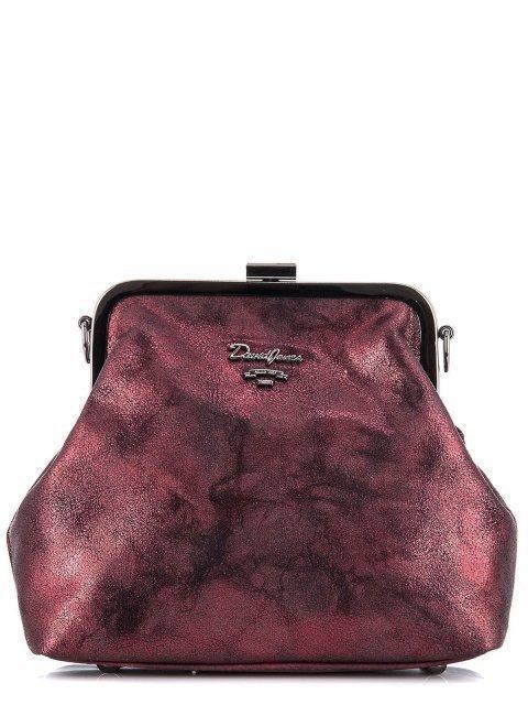 Бордовая сумка планшет David Jones - 1095.00 руб