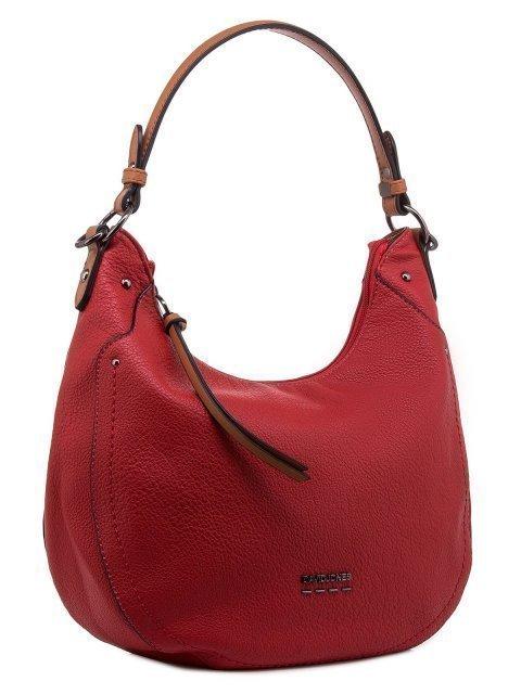 Красная сумка мешок David Jones (Дэвид Джонс) - артикул: 0К-00011852 - ракурс 1
