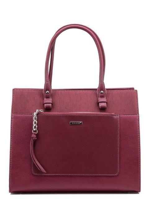 Бордовая сумка классическая David Jones - 1400.00 руб