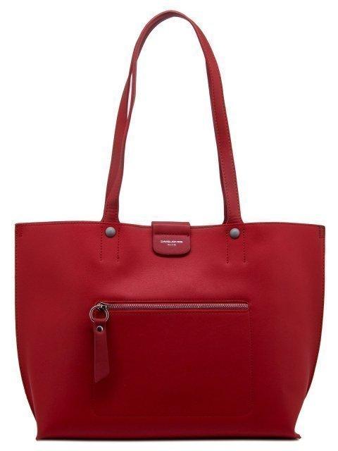 Красный шопер David Jones (Дэвид Джонс) - артикул: 0К-00010989 - ракурс 1