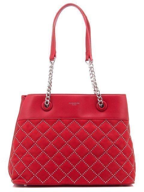 Красная сумка классическая David Jones - 1200.00 руб