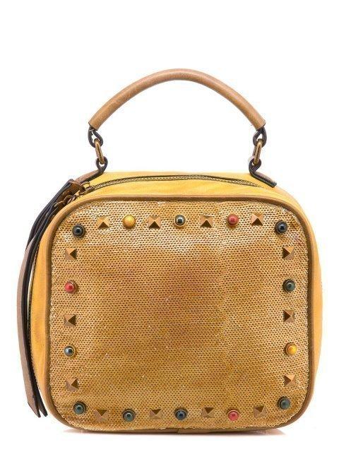 Жёлтая сумка планшет Domenica - 1100.00 руб
