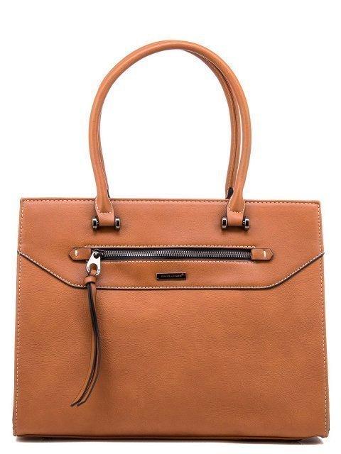 Рыжая сумка классическая David Jones - 1200.00 руб