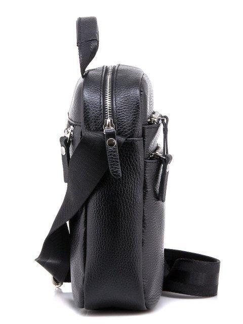 Чёрная сумка планшет S.Lavia (Славия) - артикул: 0039 12 01 - ракурс 2