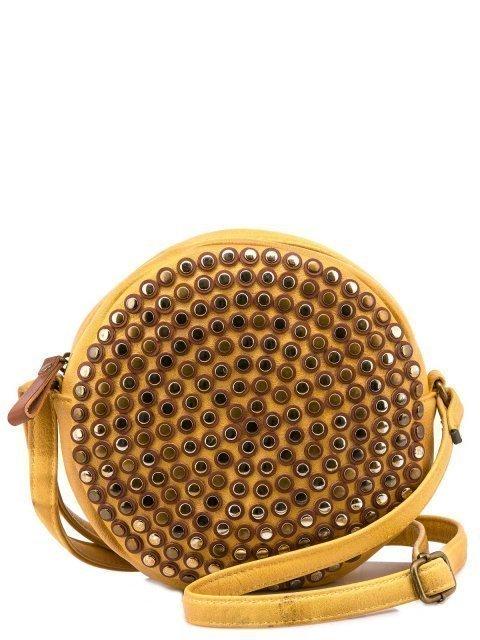 Жёлтая сумка планшет Domenica - 1150.00 руб