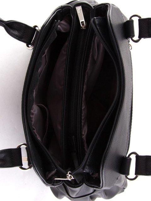 Чёрная сумка классическая S.Lavia (Славия) - артикул: 366 97 01 - ракурс 4