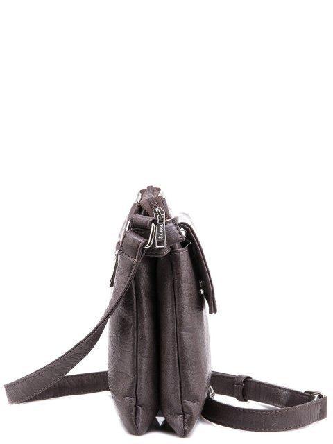 Коричневая сумка планшет S.Lavia (Славия) - артикул: 907 601 12 - ракурс 3