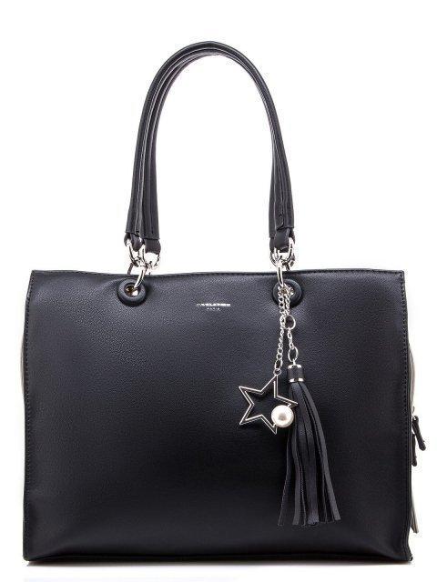 Чёрная сумка классическая David Jones - 1300.00 руб