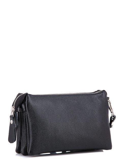 Чёрная сумка планшет S.Lavia (Славия) - артикул: 0027 13 01 - ракурс 2