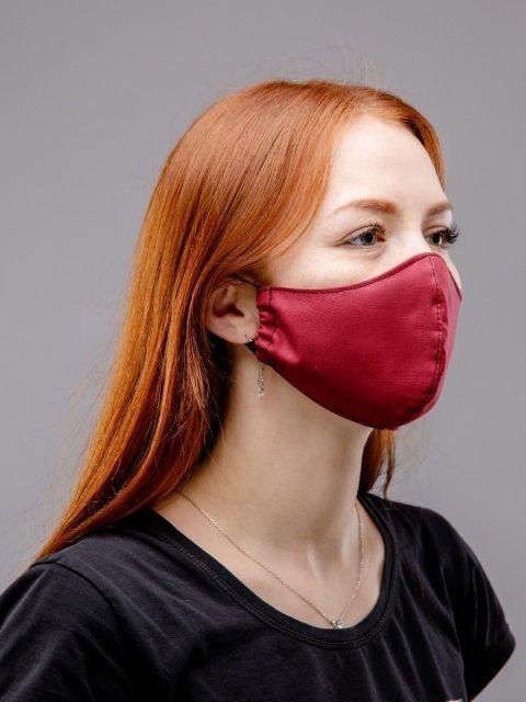Бордовая маска S.Lavia (Славия) - артикул: М-002-03  - ракурс 2