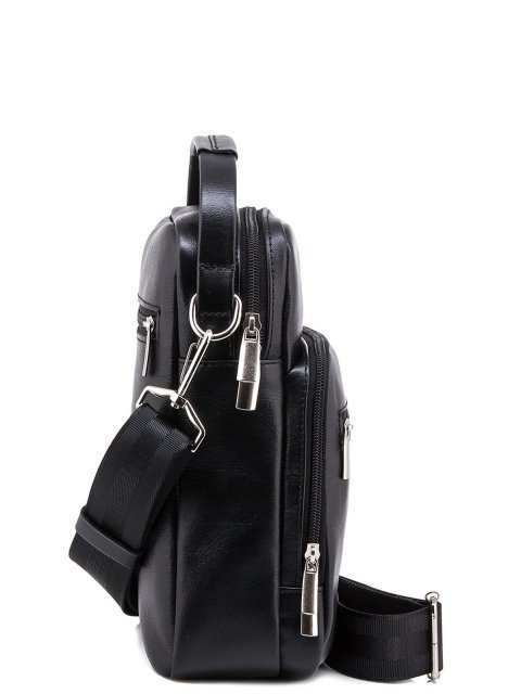 Чёрная сумка планшет S.Lavia (Славия) - артикул: 0052 10 01 - ракурс 2
