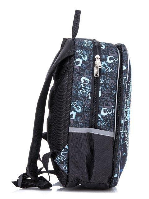 Голубой рюкзак Lbags (Эльбэгс) - артикул: К0000022015 - ракурс 2