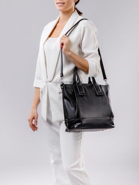 Чёрная сумка классическая S.Lavia (Славия) - артикул: 1074 902 01 - ракурс 2