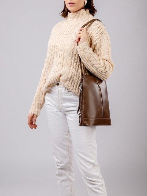 Коричневый рюкзак S.Lavia (Славия) - артикул: 822 586 52 - ракурс 1