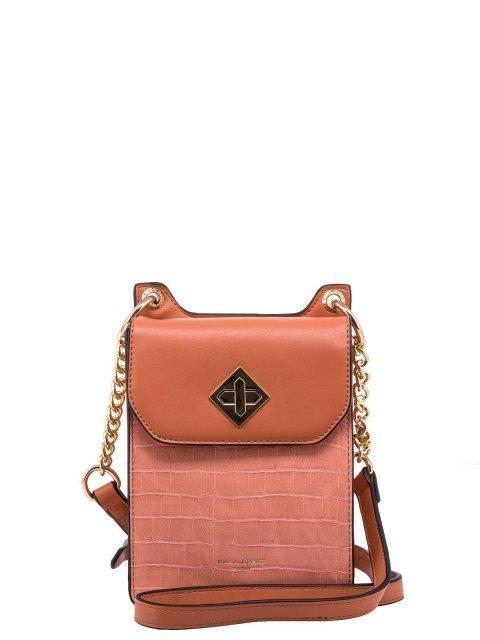 Розовая сумка планшет David Jones - 1231.00 руб