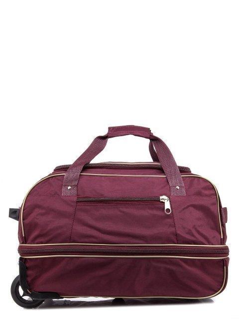 Бордовый чемодан Lbags - 2890.00 руб