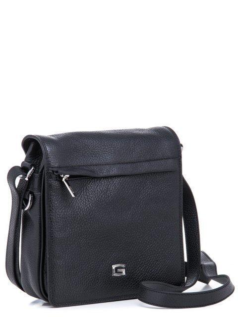 Чёрная сумка планшет Giudi (Джуди) - артикул: К0000030701 - ракурс 1