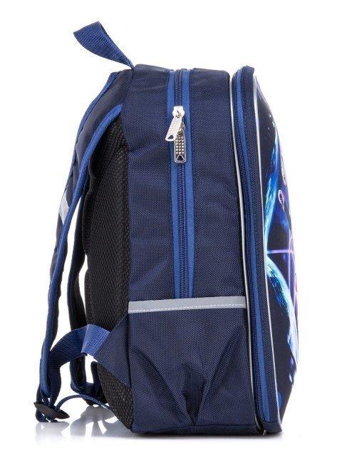 Синий рюкзак Lbags (Эльбэгс) - артикул: К0000031246 - ракурс 2