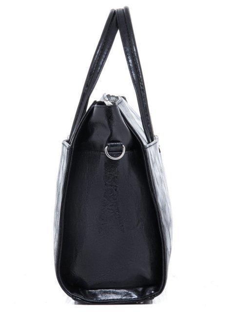 Чёрная сумка классическая S.Lavia (Славия) - артикул: 716 048 01 - ракурс 3