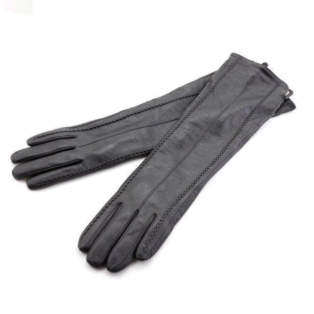 Чёрные перчатки Angelo Bianco - 1790.00 руб
