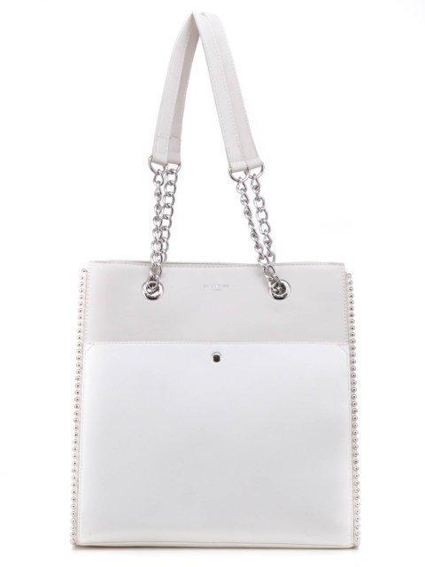 Белый шоппер David Jones - 1500.00 руб