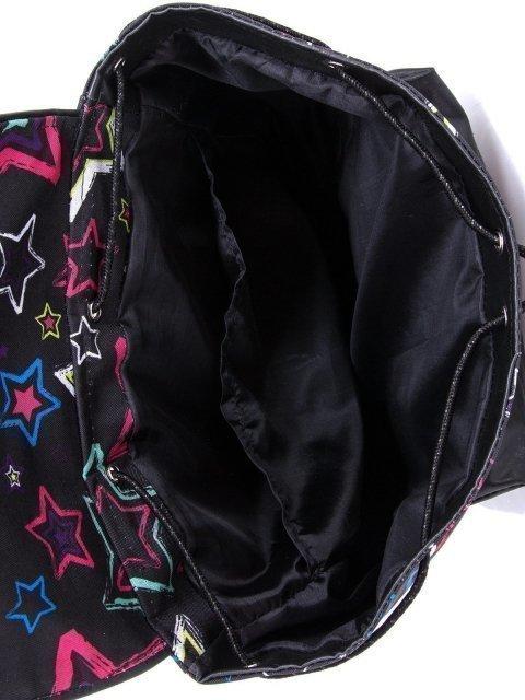 Чёрный рюкзак Lbags (Эльбэгс) - артикул: К0000029824 - ракурс 4