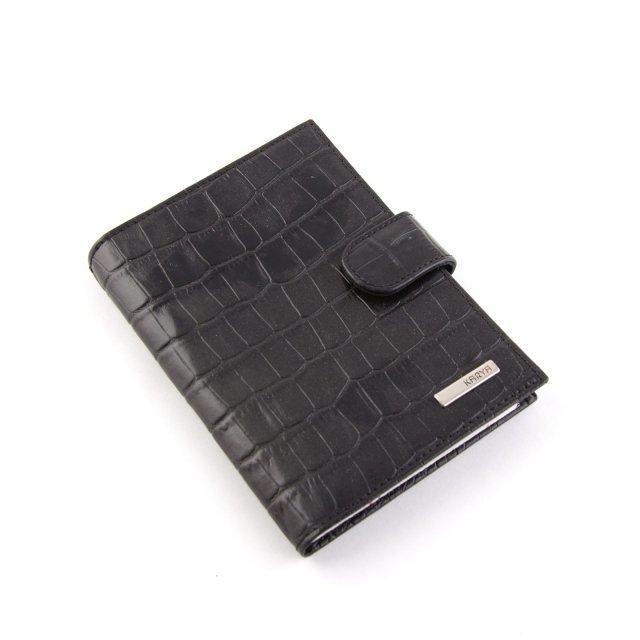 Чёрный бумажник Karya - 1074.00 руб