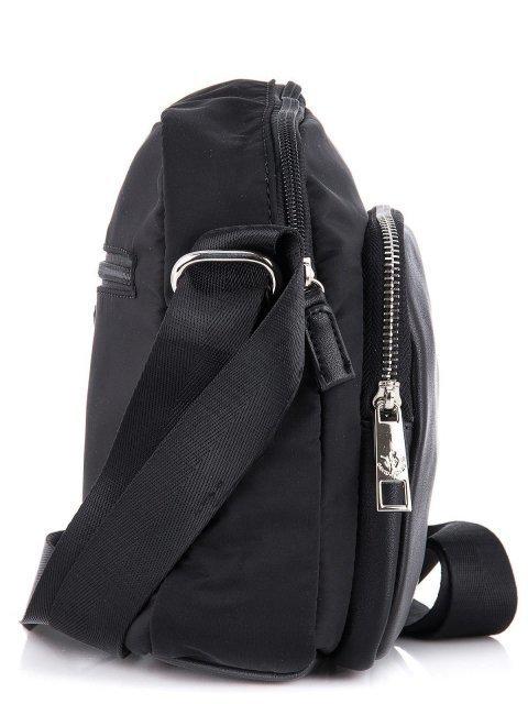 Чёрная сумка планшет David Jones (Дэвид Джонс) - артикул: К0000033942 - ракурс 2