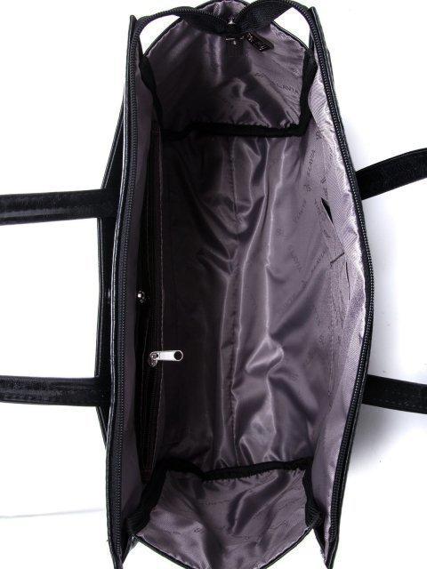Чёрная сумка классическая S.Lavia (Славия) - артикул: 716 048 01 - ракурс 5