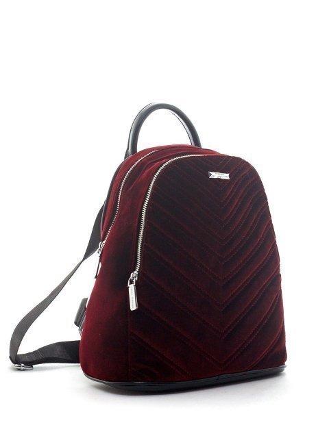 Бордовый рюкзак Fabbiano (Фаббиано) - артикул: К0000020491 - ракурс 1