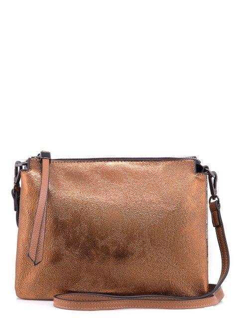 Бронзовая сумка планшет Domenica - 899.00 руб
