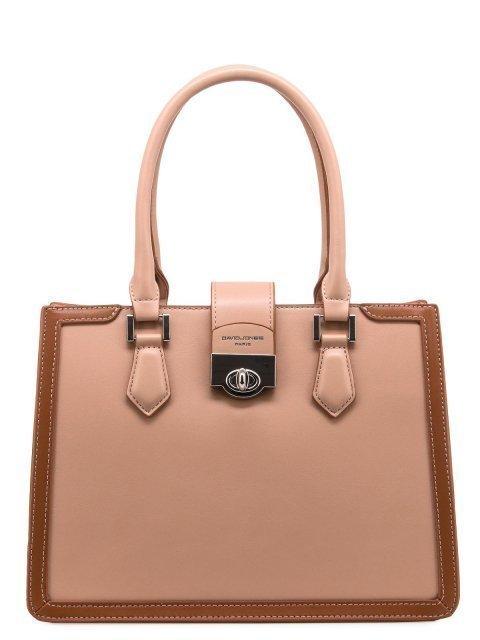Бежевая сумка классическая David Jones - 1199.00 руб