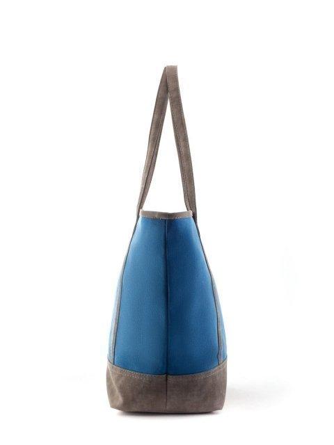 Синий шоппер S.Lavia (Славия) - артикул: Т042 931 52 - ракурс 1