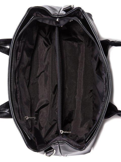 Чёрная сумка классическая S.Lavia (Славия) - артикул: 744 586 01 - ракурс 6