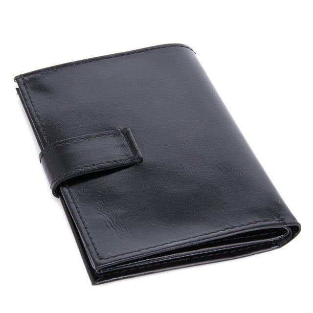 Чёрная обложка для документов S.Lavia (Славия) - артикул: К0000016634 - ракурс 1