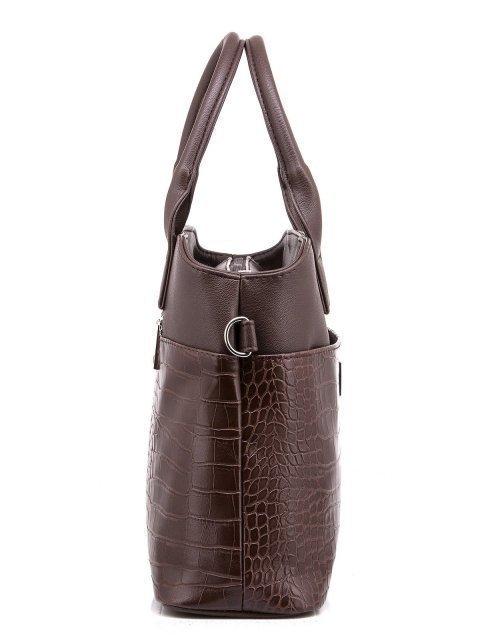 Коричневая сумка классическая S.Lavia (Славия) - артикул: 507 206 02 - ракурс 2