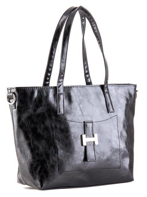 Чёрная сумка классическая S.Lavia (Славия) - артикул: 448 048 01 - ракурс 2
