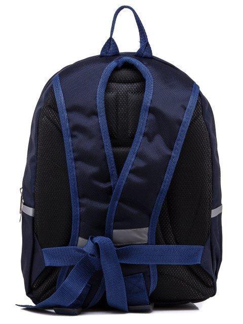 Синий рюкзак Lbags (Эльбэгс) - артикул: К0000031241 - ракурс 3
