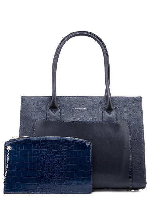 Синяя сумка классическая David Jones - 1550.00 руб