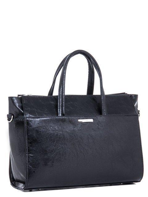 Чёрная сумка классическая S.Lavia (Славия) - артикул: 716 048 01 - ракурс 2