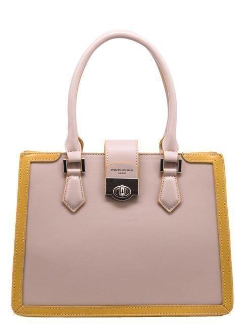 Розовая сумка классическая David Jones - 1499.00 руб