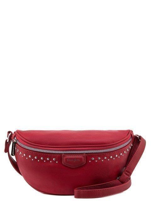 Красная сумка на пояс David Jones - 900.00 руб