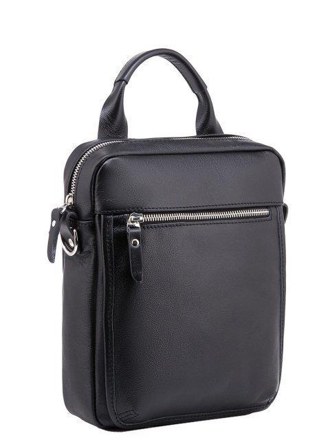 Чёрная сумка планшет S.Lavia (Славия) - артикул: 0056 10 01 - ракурс 1