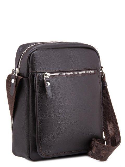 Коричневая сумка планшет S.Lavia (Славия) - артикул: 0036 10 12 - ракурс 1