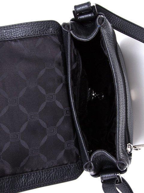Чёрная сумка планшет Giudi (Джуди) - артикул: К0000030701 - ракурс 4